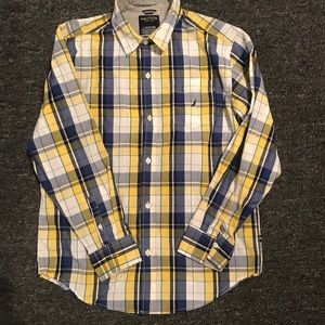 Boys large button up Large 14/16